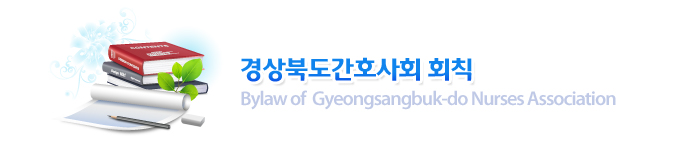 경상북도간호사회 회칙 : Bylaw of  Gyeongsangbuk-do Nurses Association